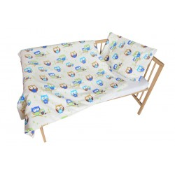 COSING 2pcs Bedding set - OWL BEIGE