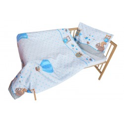 COSING 2pcs Bedding set - OWL WITH SQUIRREL