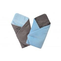 COSING Swaddling blanket MINKY - WHITE