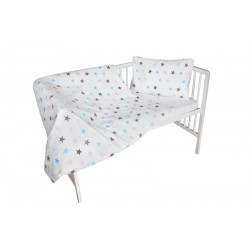 COSING 2pcs Bedding set - STARS BLUE