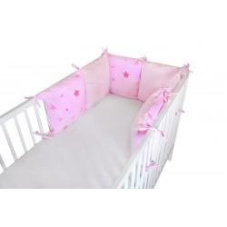 COSING Pillow Bumper - STARS Pink