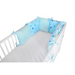 COSING Pillow Bumper - STARS Blue