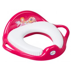 TEGA Dětské sedátko na WC měkké - Princezna