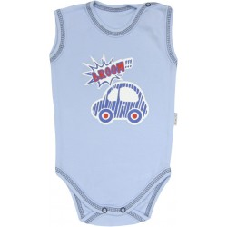 MAMATTI Bodysuit sleeveless - CARS