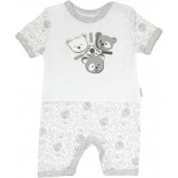 MAMATTI Summer Sleepsuit -  Happy Bears