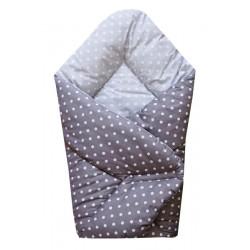 Zavinovačka Sleeplease 80x80 cm - Puntíky