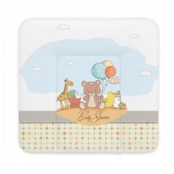 Ceba Baby Přebalovací podložka 75 x 72 cm - Medvídek s balónkami