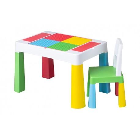 Tega Baby Multifun sada stoleček a židlička - multicolor