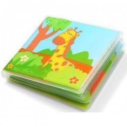 BabyOno Měkká knížka do koupele WILD ANIMALS