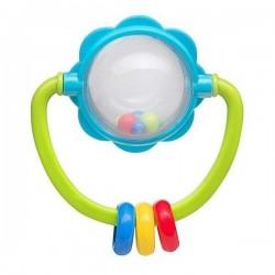 BabyOno chrastítko kulička s kroužky 3m+