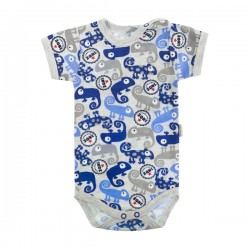 MAMATTI Bodysuit short sleeve - Happy Bear