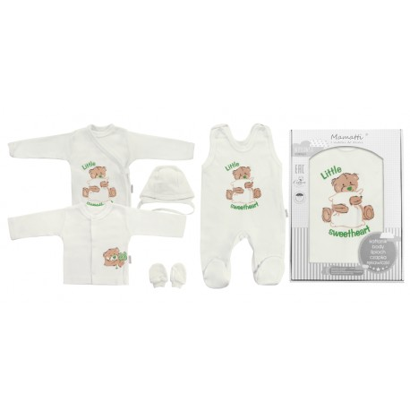 Souprava do porodnice 5D - Bílá