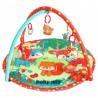 Baby Mix Hrací deka s hrazdou - Srnky a přátelé