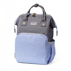 BabyOno přebalovací taška Oslo Style modrá + podložka