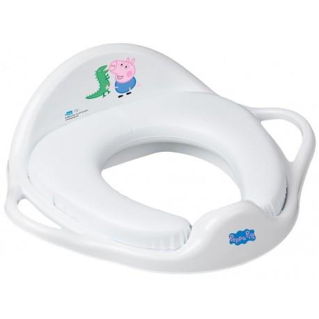 TEGA Dětské sedátko na WC měkké - Peppa Pig modrá