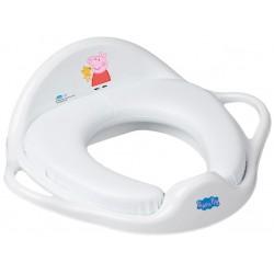 TEGA Dětské sedátko na WC měkké - Peppa Pig růžová