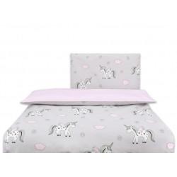 COSING 2pcs Bedding set Sleeplease - HEART PINK