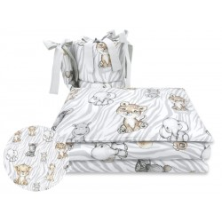 COSING 4 pcs Bedding set - SAFARI NATURAL