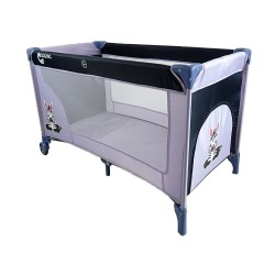 COSING Travel Cot ADAM - Zebra grey