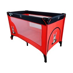 COSING Travel Cot ADAM - Zebra red