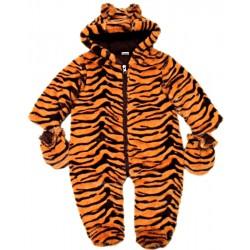 Kombinéza z umělé kožešiny- tygří vzor