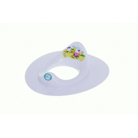 Sedátko na WC - Veselá Želva fialová