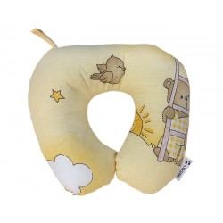 COSING Travel neck pillow - Bear in the sky Yellow