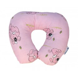 COSING Travel neck pillow - Dog pink