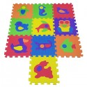 COSING Pěnová podložka puzzle - Zvířátka 10ks