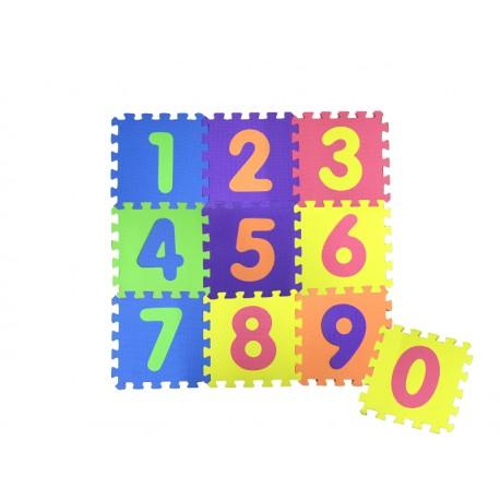 COSING Pěnová podložka puzzle - Čísla 10ks