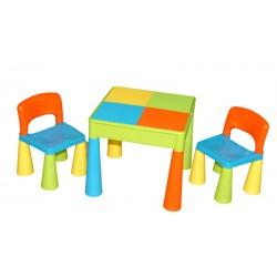 Dětská sada MAMUT - stoleček a 2x židlička