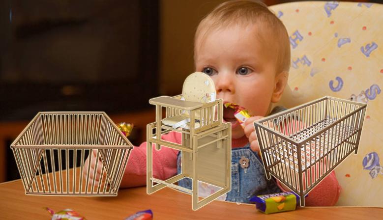 dřevěné dětské produkty
